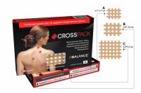 Набор кросс тейпов BB CROSS PACK™ (3 размера в упаковке) бежевый